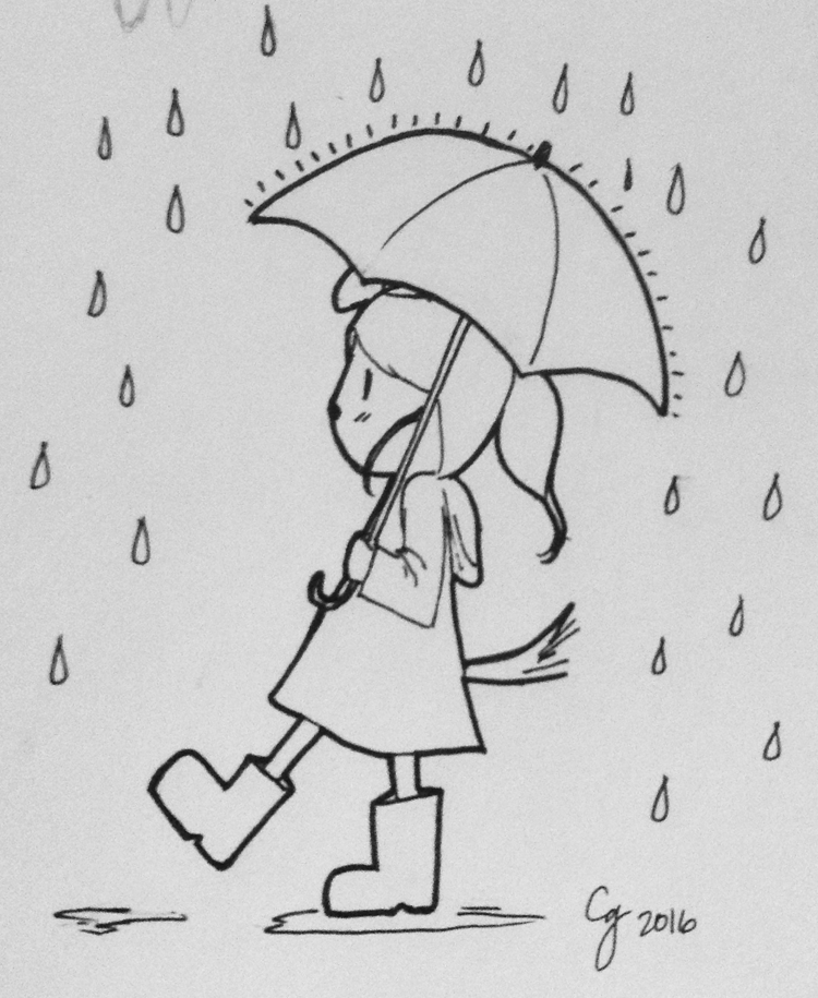 BCW: Tana In The Rain