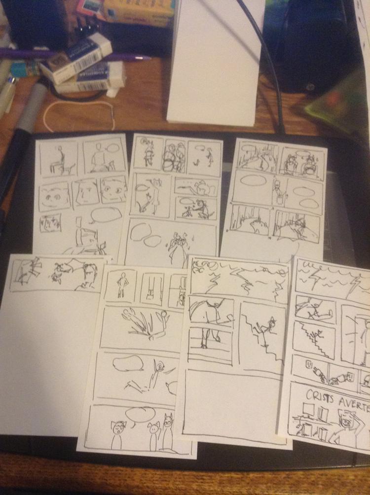 BCW: Comic Thumbnails