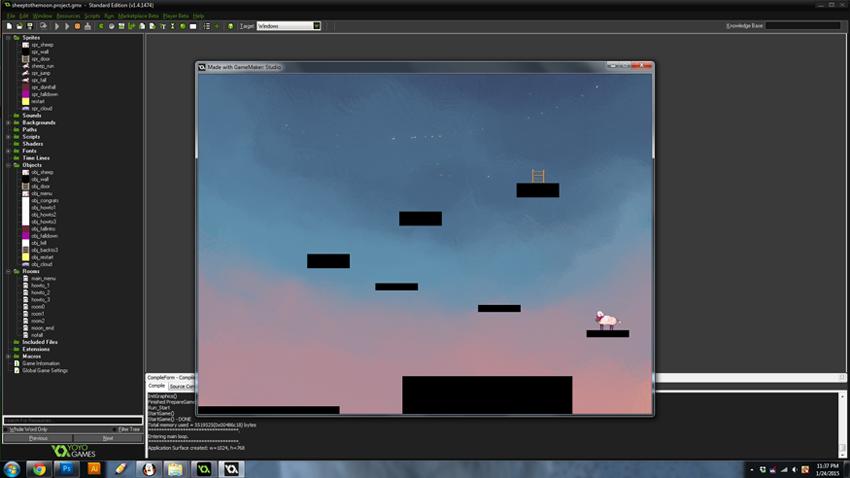 """BCW: """"Moon Lambing"""" Screenshot"""