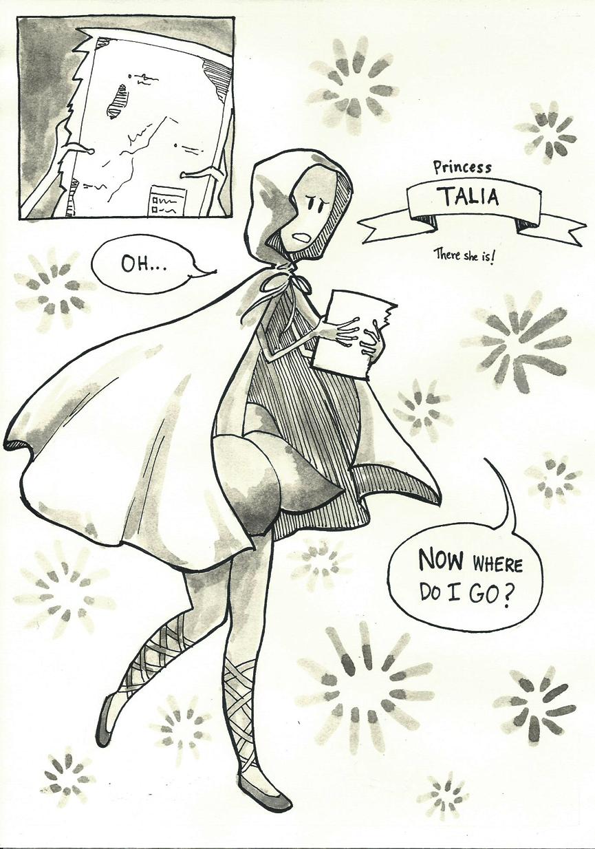 Inktober Special -- The Adventures of Princess Talia -- 13