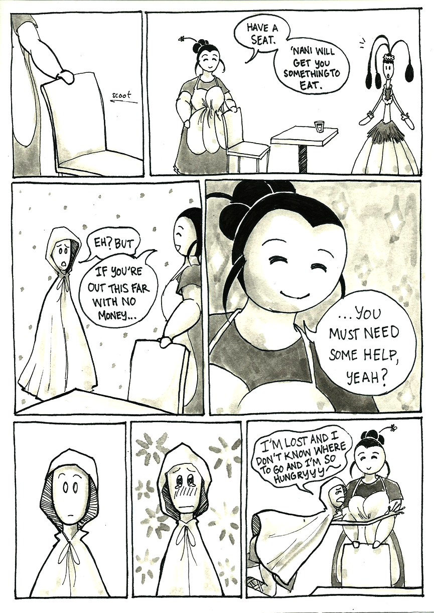 Inktober Special -- The Adventures of Princess Talia -- 21