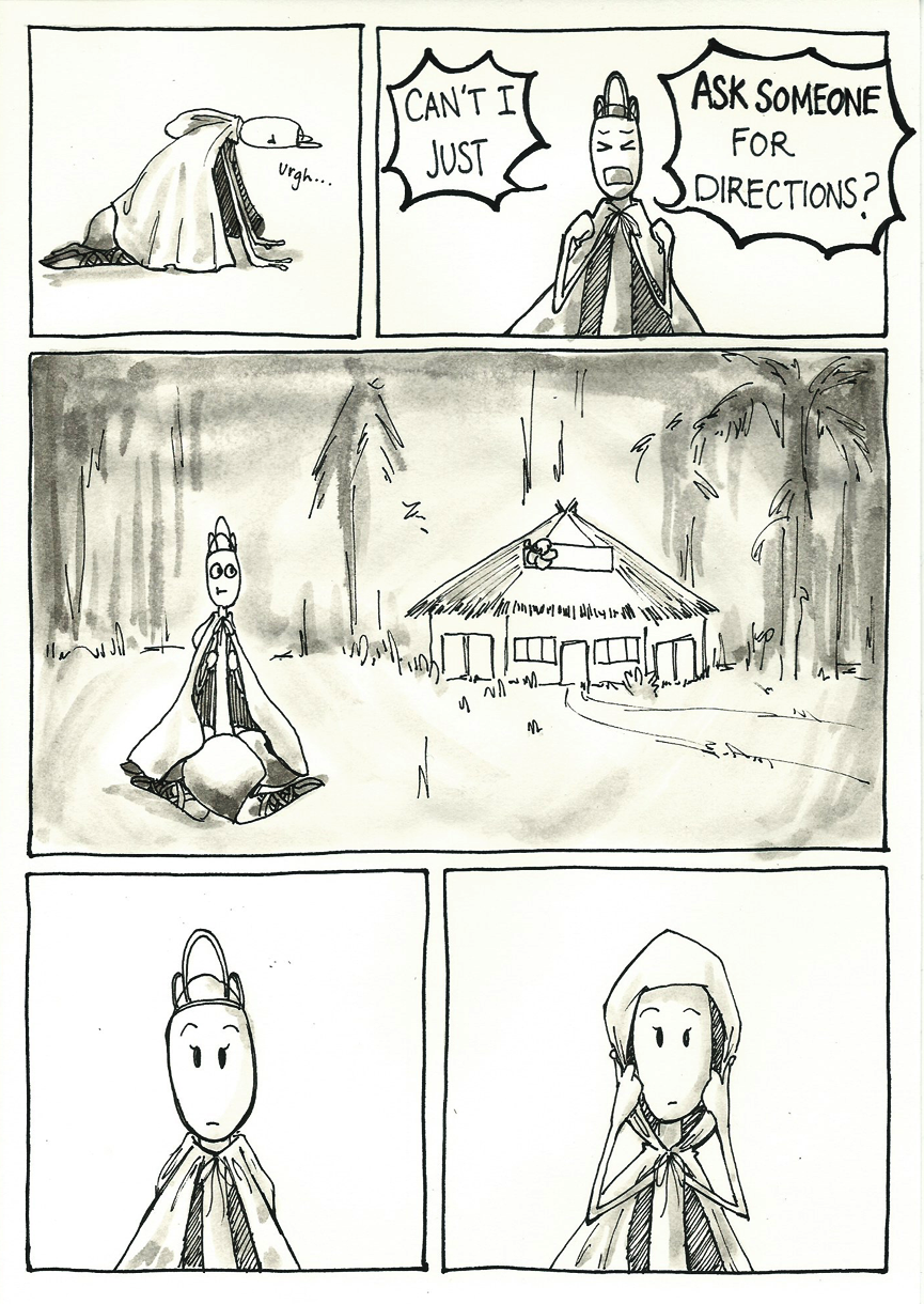 Inktober Special -- The Adventures of Princess Talia -- 17